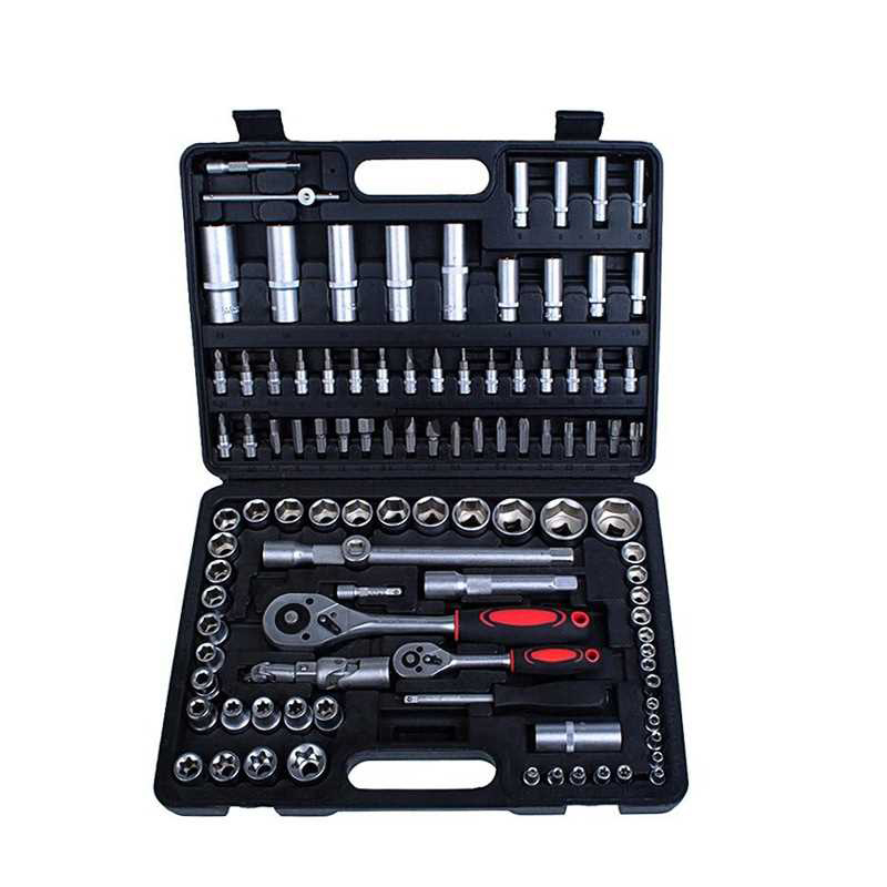 108pcs Automotive Hand Tool Set Ratchet Wrench Spanner Set Hand Tools Combination Tool Kits