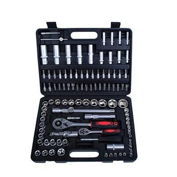 108pcs Automotive Hand Tool Set Ratchet Wrench Spanner Set Hand Tools Combination Tool Kits