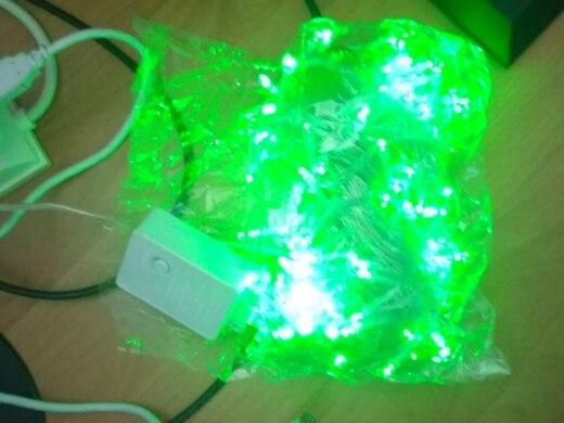 Fios de LED Ac220v Guirlanda Guirlanda