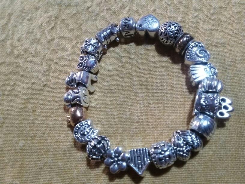 браслет Пандора серебро; Pandora Шарм; Pandora Шарм; ulefon;