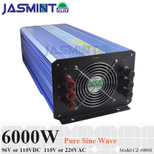 цена на 6000W 96V/110VDC 100/110/120VAC or 220/230/240VAC Pure Sine Wave PV Inverter Off Grid Solar& Wind Power Inverter PV Inverter