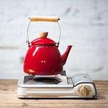 Японский ячменный чайник эмалированный утолщенный kungfu электромагнитная