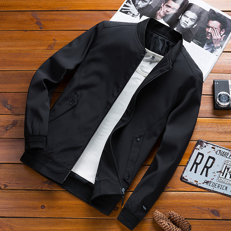 Man Brand Clothing Male Casual Outwear Coat Air Force Slim Windbreaker Jacket Mens Bomber Piolt Jacket