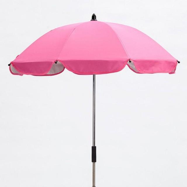 Adjustable Baby Stroller Umbrella Pushchair Pram Sunshade Canopy Anti UV Parasol Umbrella Stand Rain Cover Outdoor Rain Gear & Online Shop Adjustable Baby Stroller Umbrella Pushchair Pram ...