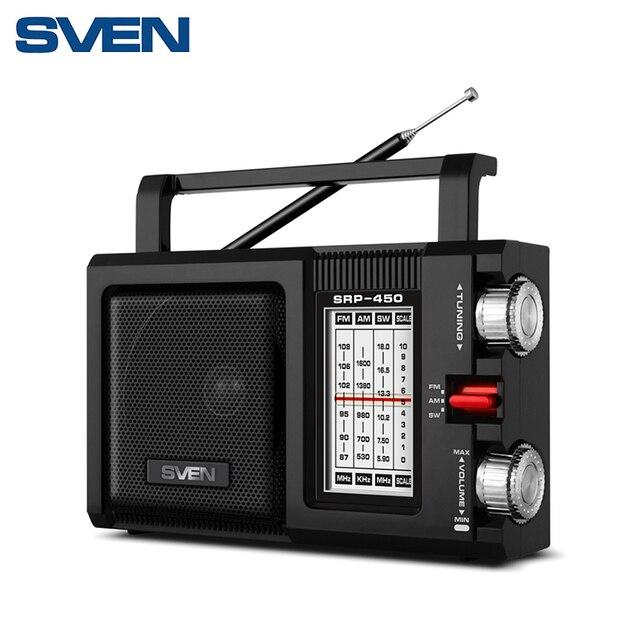 Портативный радиоприёмник SVEN SRP-450