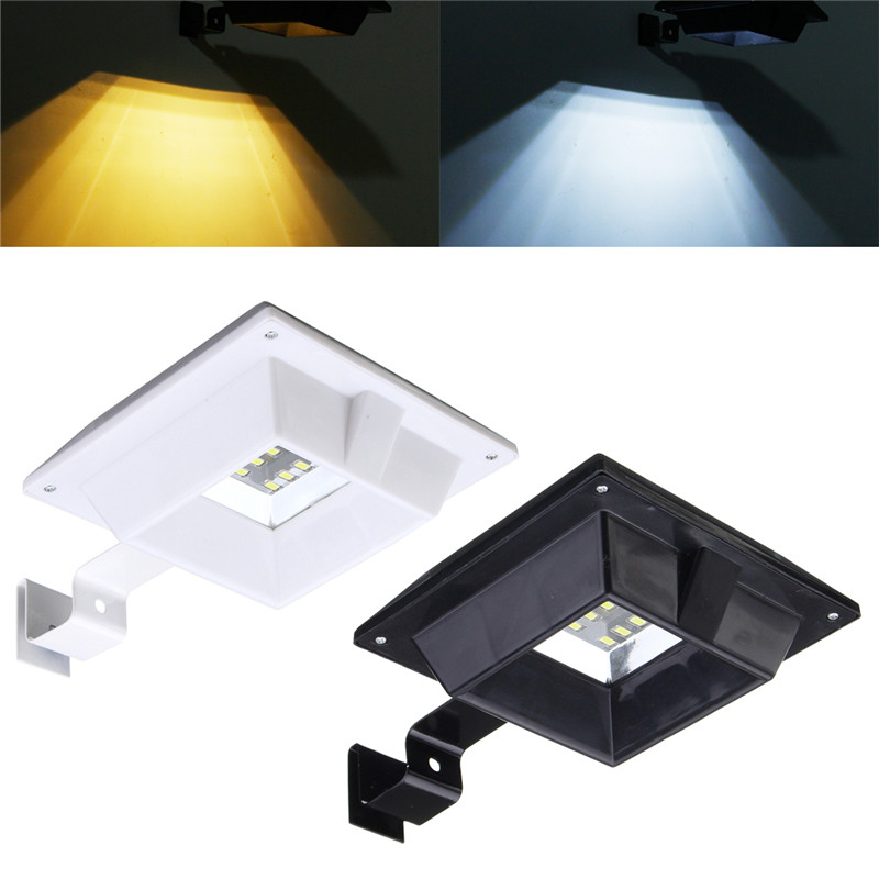 Mising Light Control LED Solar Light Waterproof LED Solar Power Wall Lamp Outdoor Garden Light Security Fence Light ...