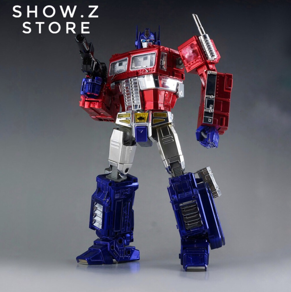 [Show.Z Store] 4th Party MP10X MP-10X OP Chrome Version Transformation Action Figure [show z store] 4th party mp 13 masterpiece mp 13 mp13 transformation action figure