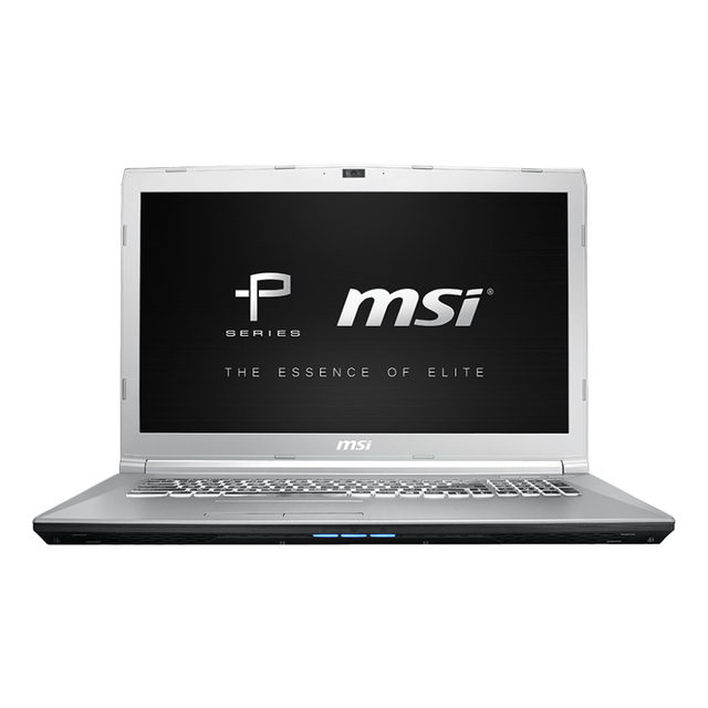 Ноутбук игровой MSI PE72 7RE-1418RU 17,3/i7-7700HQ/1 ТБ/8 ГБ/GTX1050Ti/noODD/Win10 /серебро (9S7-1799C9-1418)