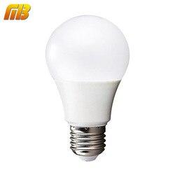 [MingBen] LED 전구 램프 E27 220 볼트 240 볼트 전구 스마트 IC 실제 전원 3 와트 5 와트 7 와트 9 와트 12 와트 15 와트 고휘도 Lampada Bombillas