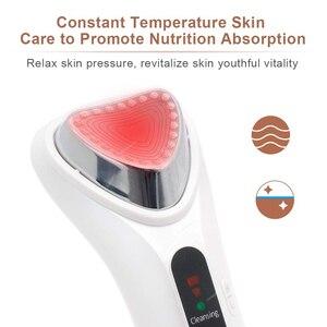 Image 4 - קולי חם יון יבוא יופי לעיסוי התחדשות מכשיר יבוא יצוא פנים טיפול יופי מכונת יונית פנים לעיסוי