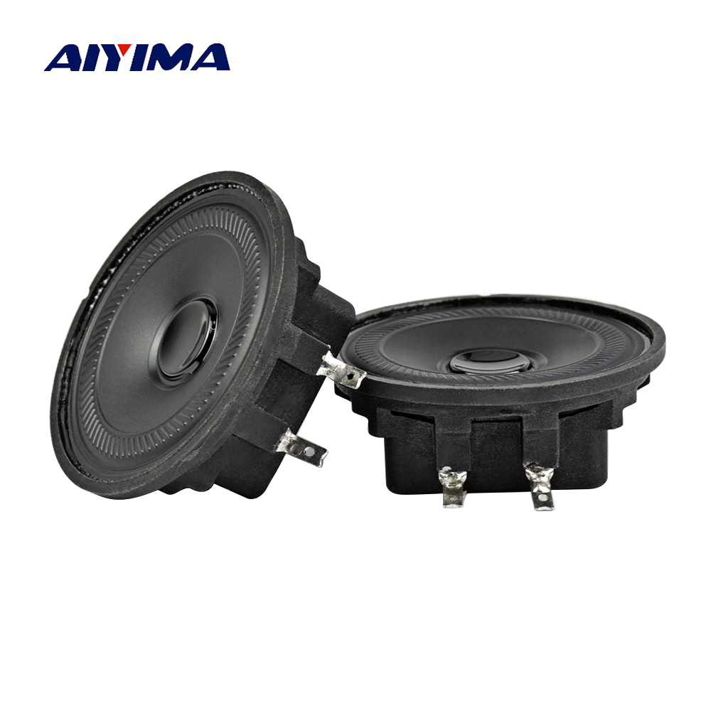 1.8Inch Mini Altavoz Portatil Column Speakers 8Ohm 2W Full Range Speaker Fever Waterproof Speaker DIY Music Center