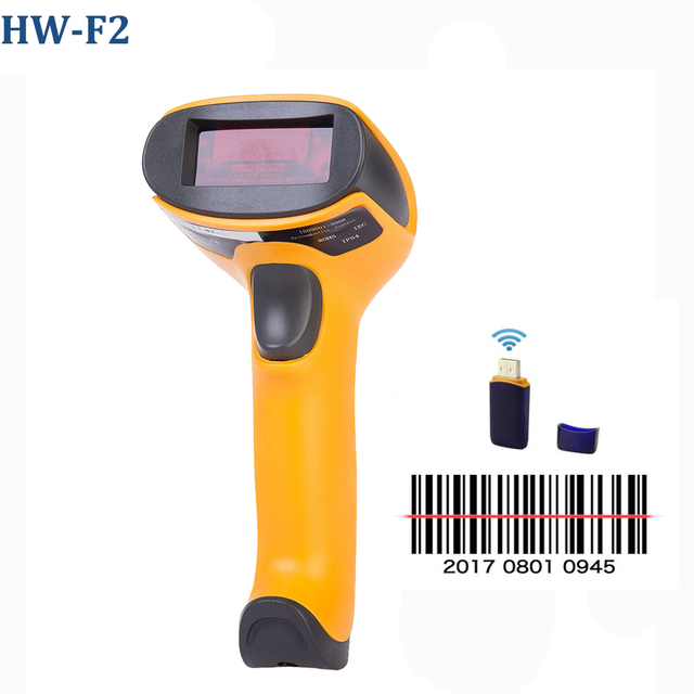 HW-L98 Portable Wireless Barcode Scanner And HW-L28BT Bluetooth 1D/2D QR PDF 417 Bar Code Reader Support Android iOS iPad Window 4