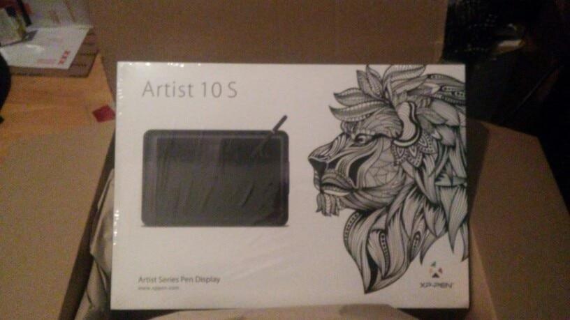 """XP-Рen Artist10S 10.1"""" IPS Графический монитор с полным комплектом и перчаткой для рисунка"""