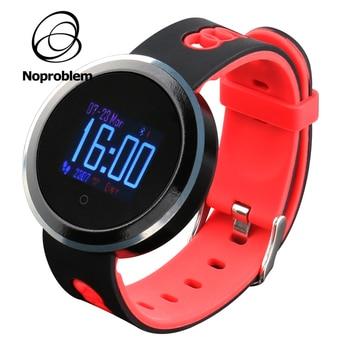 Noproblem 618 heart rate blood oxygen pressure sport pedometer fitness tracker smart bracelet