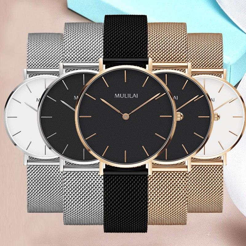 Luxury Brand Quartz Watch Women fashion Rose gold Steel Bracelet DW Watch style 32mm dial Ladies Dress Watch relogio feminino lg watch style w270 rose gold