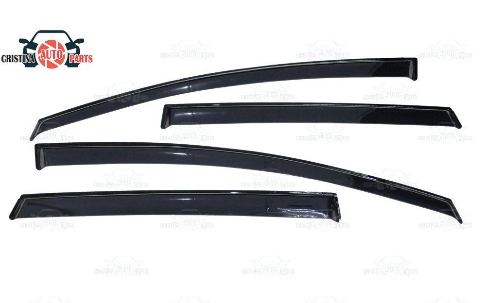 цена на Window deflector for Ford Kuga 2008-2012 rain deflector dirt protection car styling decoration accessories molding
