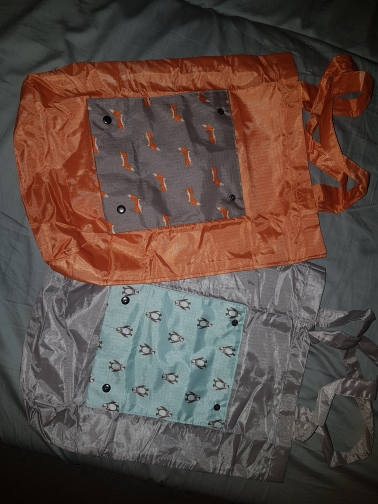 Hoogwaardige herbruikbare handtassen Handgeschilderde tas Koreaans Hoge capaciteit boodschappen Pak boodschappentassen Opvouwbare opbergtas Dames tas photo review