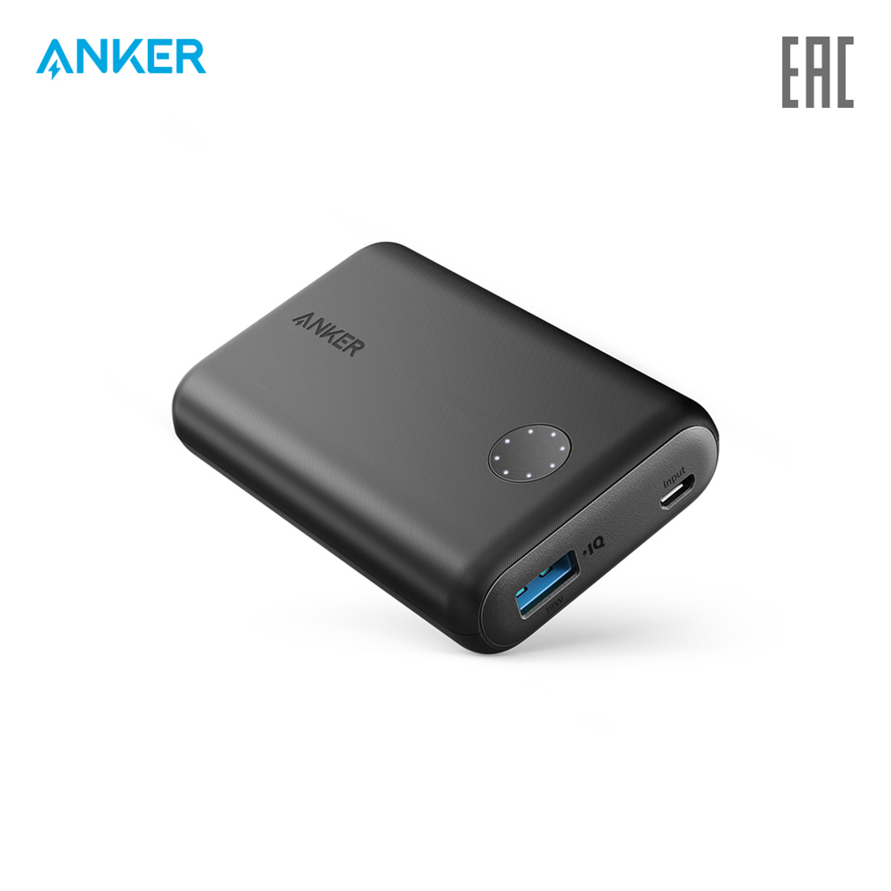 External Battery Pack Anker A1230 charging device charger quick charge anchor все цены