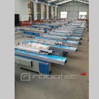 MJ 6128 Sliding table saw precision panel saw woodworking cutting saw 45 degree 90 degree