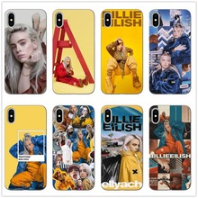 Billie Eilish Khalid Lovely Soft TPU Phone Cases Cover For iPhone 5 11 11PRO MAX SE 6 6S Plus 7 7Plus 8 8 Plus X 10 Case Coque цена