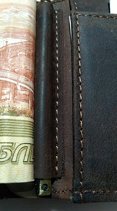 CONTACT'S Crazy Horse men RFID Genuine Leather Money Clip Card Wallet Thin Bifold cash clamp casual cash holder man coin purse photo review