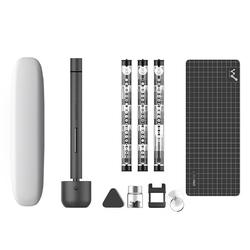 Wowstick 1F Pro Mini 전기 Screwdriver 충전식 Cordless 힘 Screw Driver Kit 와 LED 빛 Lithium Battery 운전,