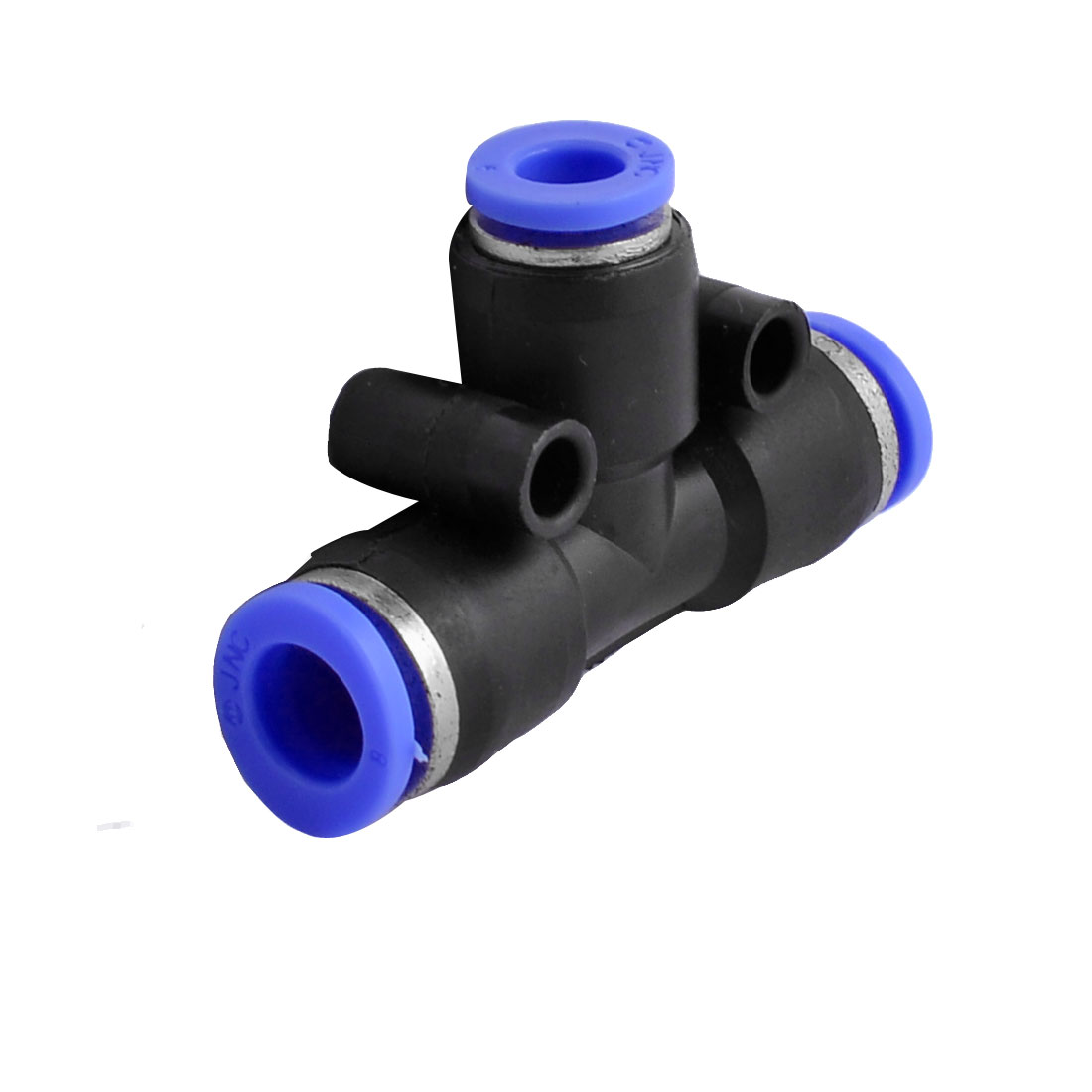 UXCELL Air Pneumatic Tee Adapters 8Mm To 6Mm One Touch Fittings Connector free shipping high quality 10pcs pneumatic 6mm to 6mm one touch end t connector quick fittings pe6