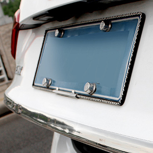 Image 5 - Bande de protection pour portes de voiture, garniture pour pare chocs avant, en Fiber de carbone, autocollants pour porte de voiture, chrome, style