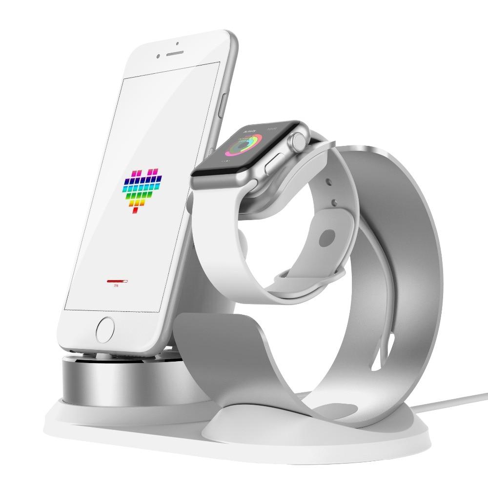 DIY 3 в 1 регулируемый стол Док Зарядка держатель для Apple Watch Зарядное устройство станции для Airpods Универсальный Подставка для зарядки для iPhone