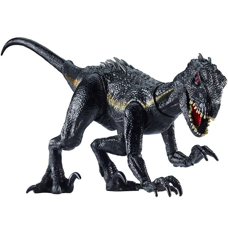 ジュラ紀世界公園恐竜アクションフィギュアpvcシミュレーションvelociraptor恐竜モデルコレクション玩具用子供男の子ギフト  グループ上の おもちゃ & ホビー からの アクション & トイ フィギュア の中 1