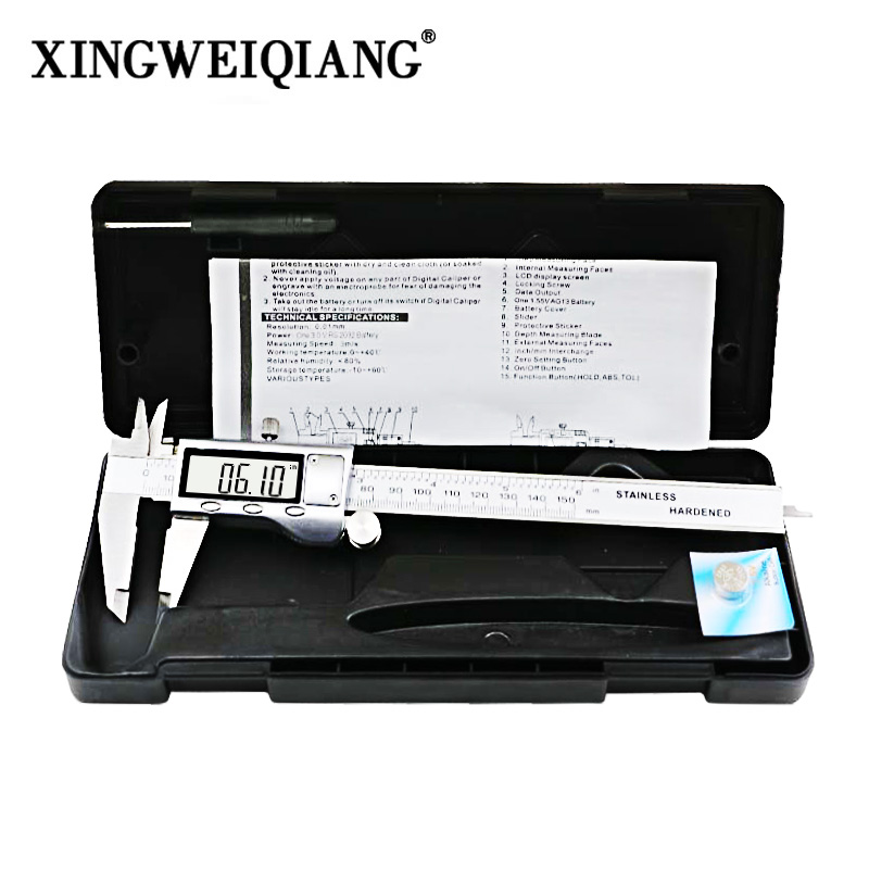 LCD Digital Caliper 0-150mm 6