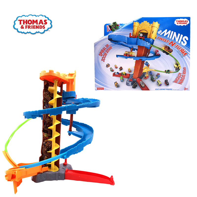 Original Brand Thomas and Friends Mini Alloy Train Track Model Cars Kids Metal Toy-cars Diecast Toys For Children Juguetes