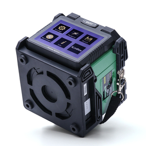 Image 3 - Komshine GX37 ftth fusionadora fibra optica spleißen maschine mit KF 52 optical fiber cleaver