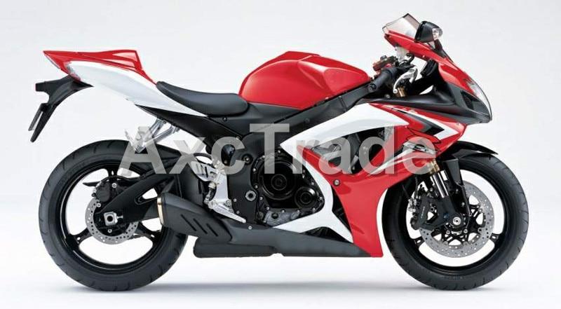 Motorcycle Fairings For Suzuki GSXR GSX-R 600 750 GSXR600 GSXR750 2006 2007 K6 06 07 ABS Plastic Injection Fairing Bodywork Red