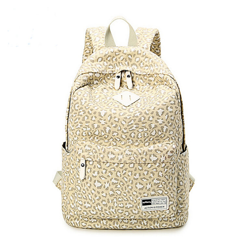 Korean style middle school students backpack bags large capacity backpack nylon casual t ...