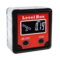 Digital Level Angle Finder Bevel Box Magnetic Base Backlight Tilt Direction Indicator  360deg (4 x 90deg) Inclinometer Gauge Protractors    -
