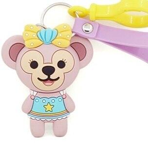 2019 nova BR2!!! Keroppi olá k melody PVC Keychain Corda Do Telefone Strap Charme Cords Lariat Talabartes Clipe Brinquedos figura Da Boneca