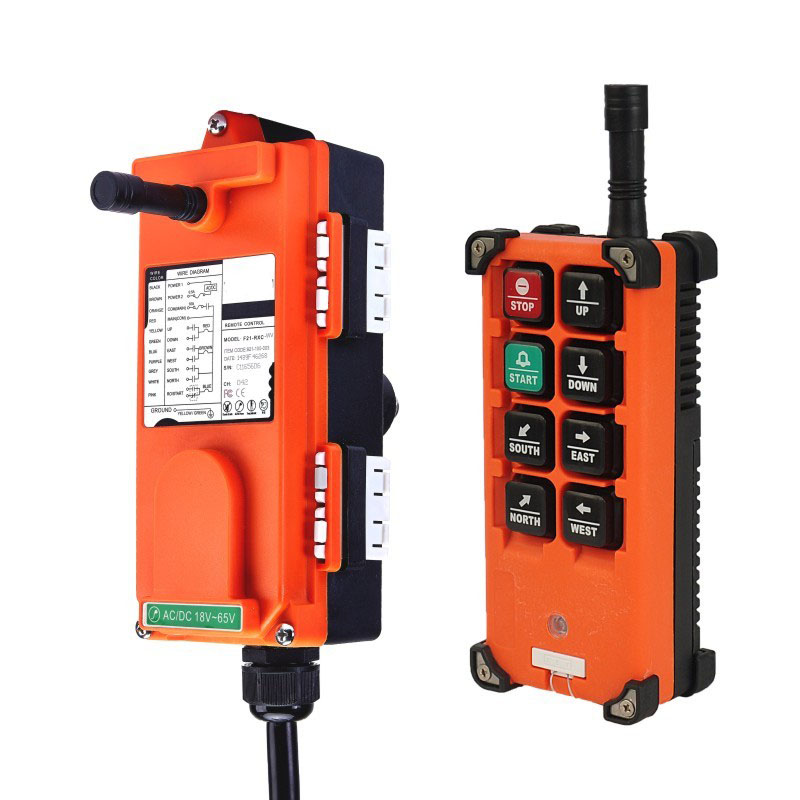 Image 2 - Original TELECRANE Wireless Industrial Remote Controller Electric Hoist Remote Control 1 Transmitter + 1 Receiver F21 E1B-in Switches from Lights & Lighting