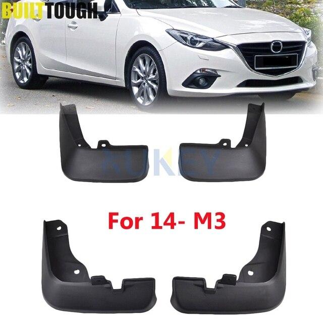 Attractive Palas Moldadas Dianteiro Traseiro Para Mazda 3 (BM) Axela Sedan 2014 2017  Mudflaps
