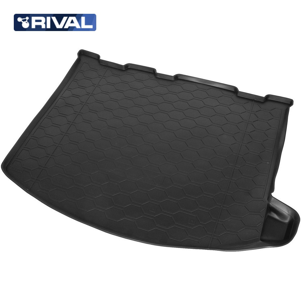 For Ford Kuga 2013-2019 trunk mat Rival 11804002 for ford 2013 2014 year kuga escape led strip drl daytime running light
