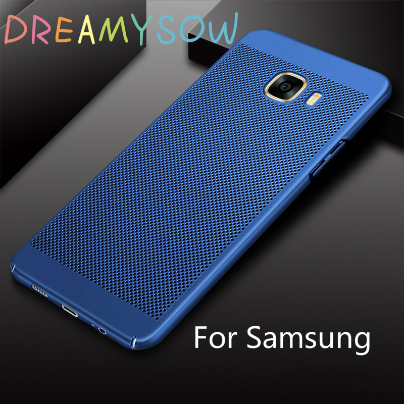 For Samsung Galaxy J1 J2 J5 J7 Prime J320 J3 J510 J5 J710 J7 2016 J3 J5 J7 Pro Heat dissipation Cover For S6 S7Edge S8 S9Plus