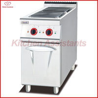 EH877 Electric Range With 2 Hot Plate