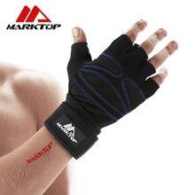 Marktop fitness kesztyű csúszásgátló eszköz kesztyű edzés golyós emelő kesztyű félig ujjú férfiak és nők