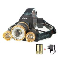 Hot Sale Outdoor Cycling 5000LM LED Focusable MTB Bicycle Headlight 4Mode Rechargeable Bike Flashlight Torch Strobe