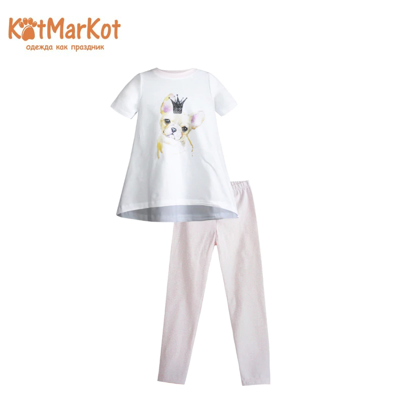 Set Kotmarkot 16633 children clothing for girls kid clothes dress kotmarkot 20351 children clothing for girls kid clothes