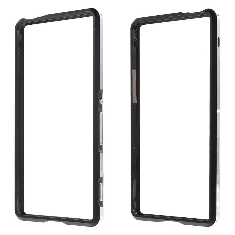 imágenes para Cubierta para Sony Xperia M 5 E5603 E5606 E5653 y M5 Dual E5633 casos de Metal de Dos colores Del Marco para Sony Xperia M5 E5603 Bolso Del Teléfono Móvil