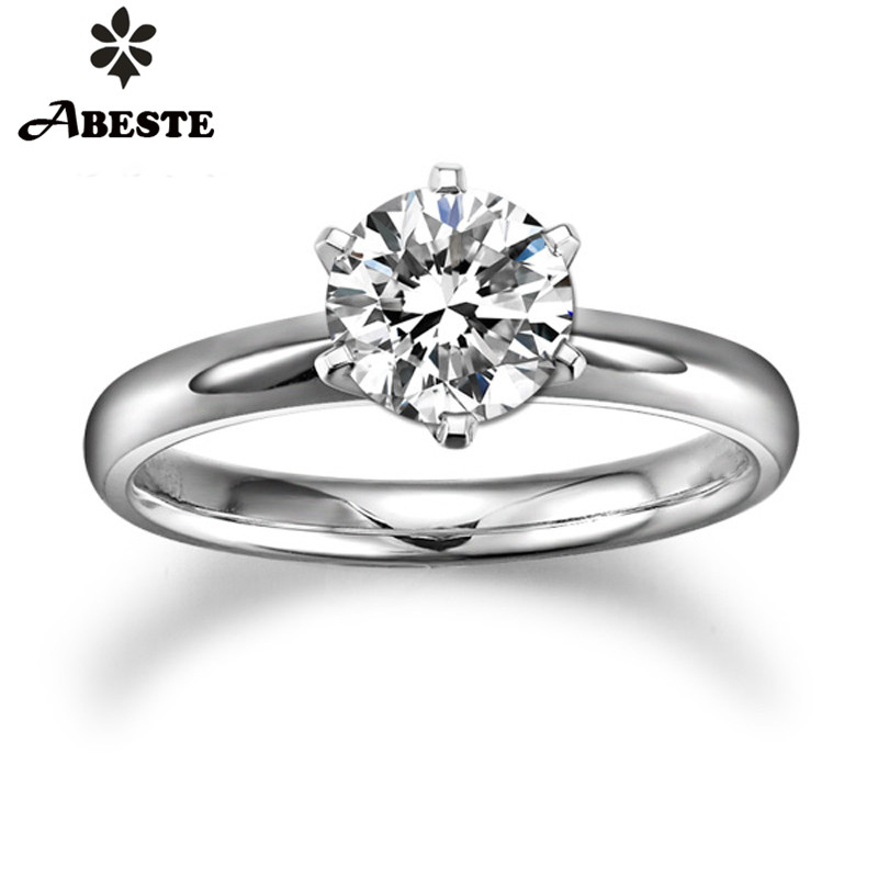 ANI 18 K blanc/jaune/or Rose (AU750) femmes bague de mariage 0.2 CT H-I/SI certifié réel naturel taille ronde diamant bague de fiançailles