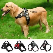 цена S/M/L/XL 3 Colors Pet Large Dog Soft Adjustable Harness Pet Walk Out Hand Strap Vest Collar For Dog's  в интернет-магазинах