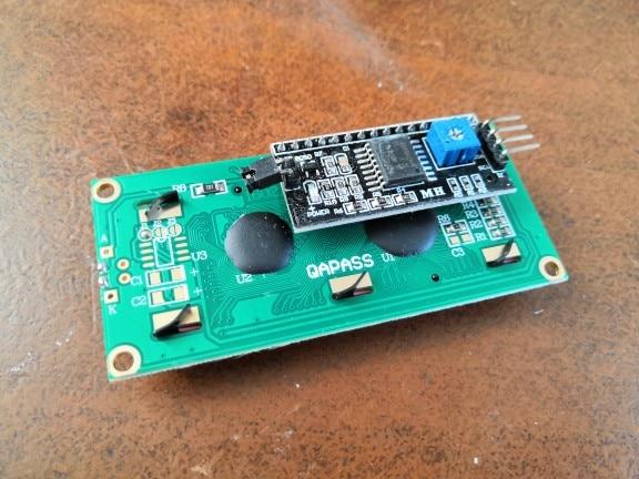 1PCS LCD module Blue screen IIC/I2C 1602 for arduino 1602 LCD UNO r3 mega2560