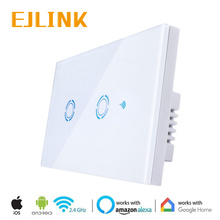 EJLink Wireless Wifi Switch For Smart Home Automation US Standard 10A Light 90-250V/220V via IOS Android App Control